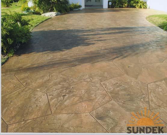 stamped concrete driveway resurfacing san diego