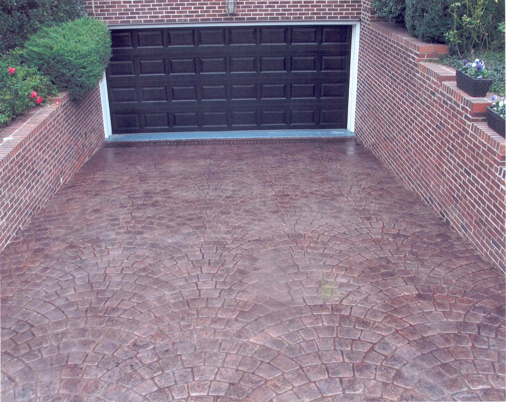concrete stamping driveway san diego