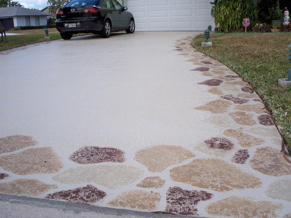 concrete driveway sealing