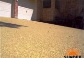 spray knockdown texture driveway san diego