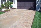 stamped concrete driveway san diego
