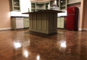 concrete floor stain san diego