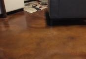 interior floor stained san diego