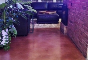 stained concrete floor san diego