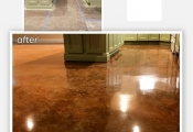 stained concrete floors san diego
