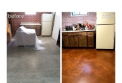 staining concrete floors san diego