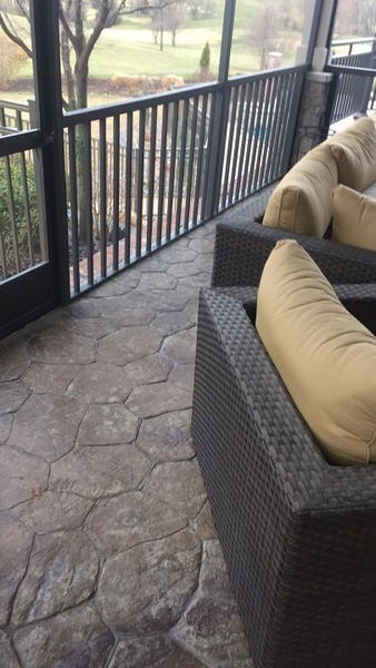 Decorative Concrete Patio San Diego
