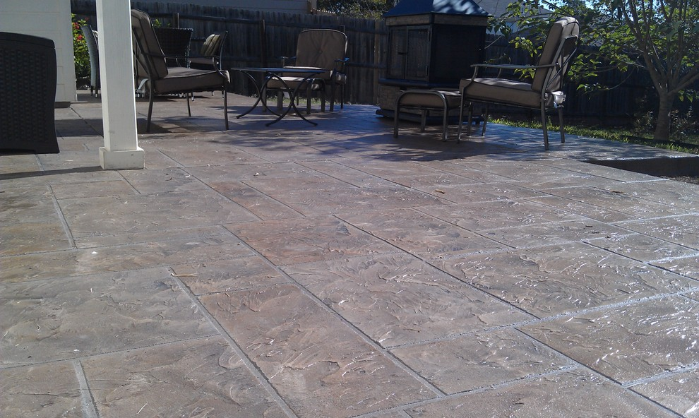 Stamped Concrete Patio Cost Calculator
