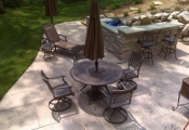 stamped concrete patio san diego