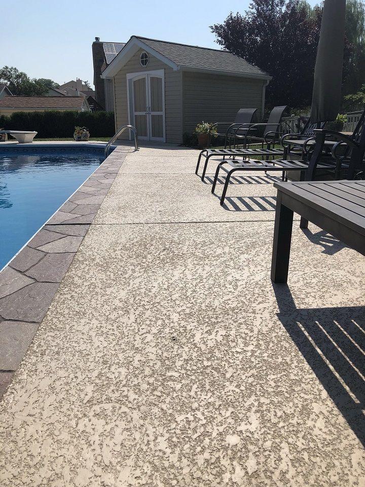 acrylic pool deck san diego