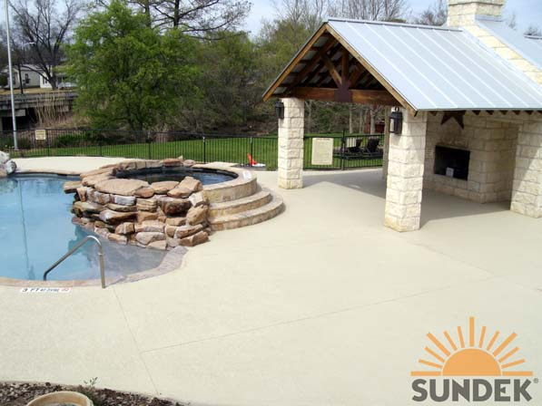 concrete pool deck design