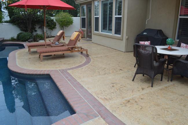 pool deck reseal