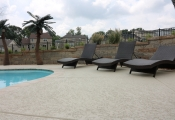 slip-free pool deck