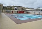 slip resistant pool deck