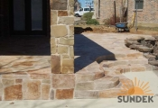 stamped concrete overlays san diego