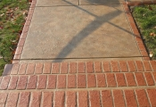 concrete stamping walkway san diego