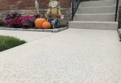 spray texture finish walkway san diego