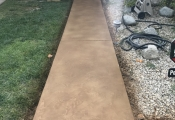 stamped concrete walkway san diego