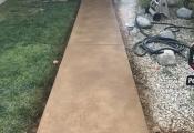 stamped concrete walkway san diego