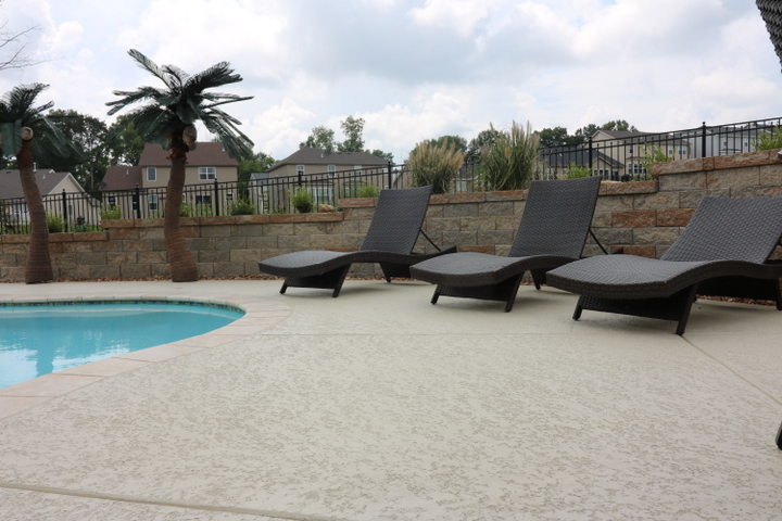 slip-free pool deck