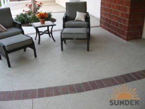 patio refinishing