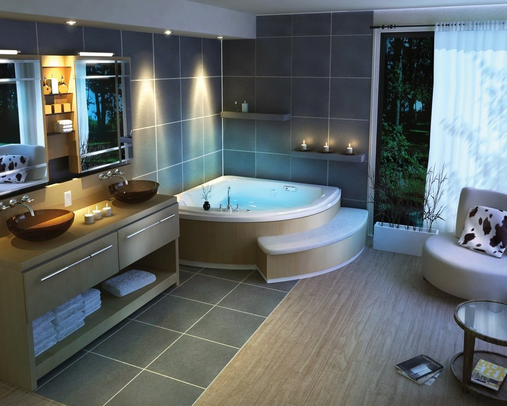 decorative spa at home