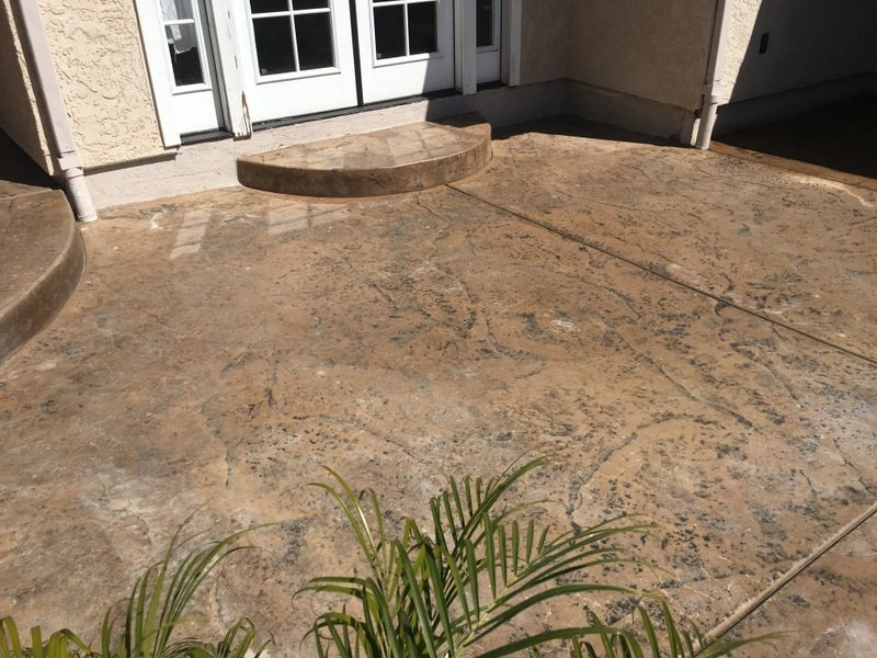 tuscan concrete overlay