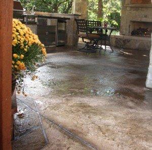 patio refinishing