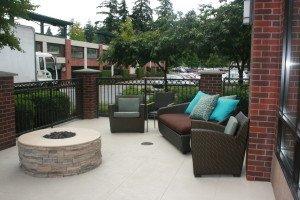Lakeside,CA patio