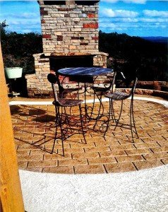 Del Cerro, CA Patio Acrylic Coating