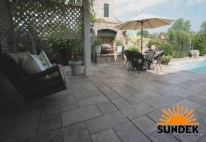 Rancho Bernardo, CA Stamped Patio