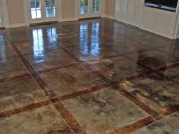 Poway, CA Stained Concrete