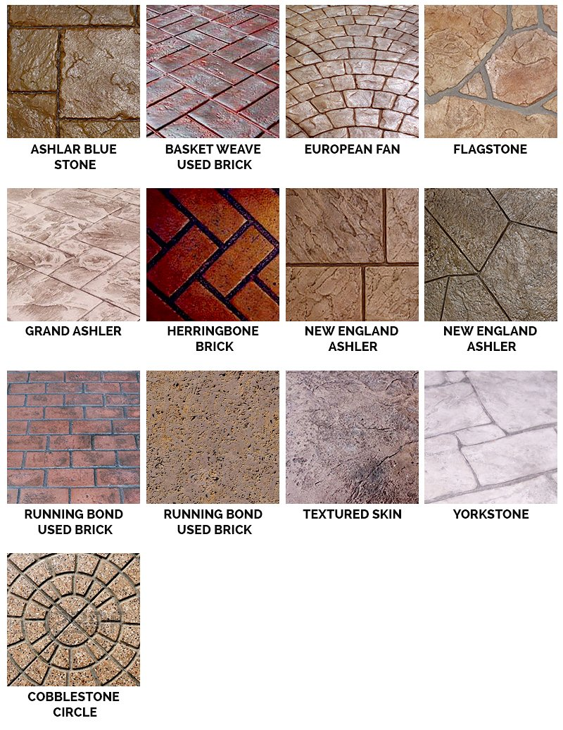 Stamped overlay patterns san diego ca 619 443 2318 for Pattern overlay