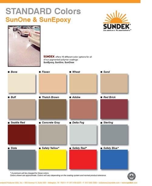 sunone and sunepoxy