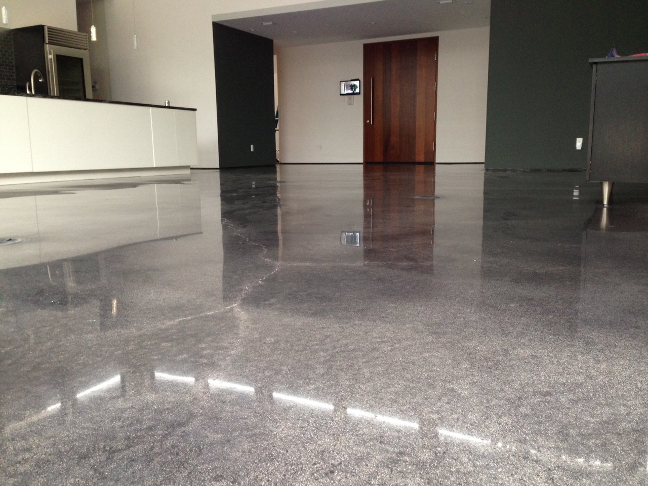 Polished Concrete Floors in Commercial Buildings