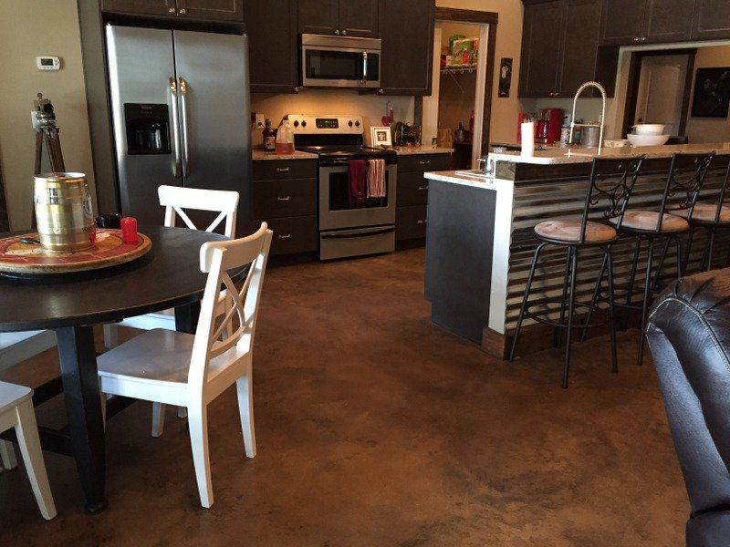 concrete kitchen floors best stained concrete san diego contractor 619 443 2318 2429