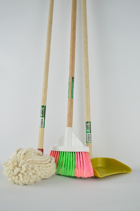 decorative concrete cleaning tools