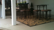 Decorate Your Backyard With A Decorative Concrete Patio